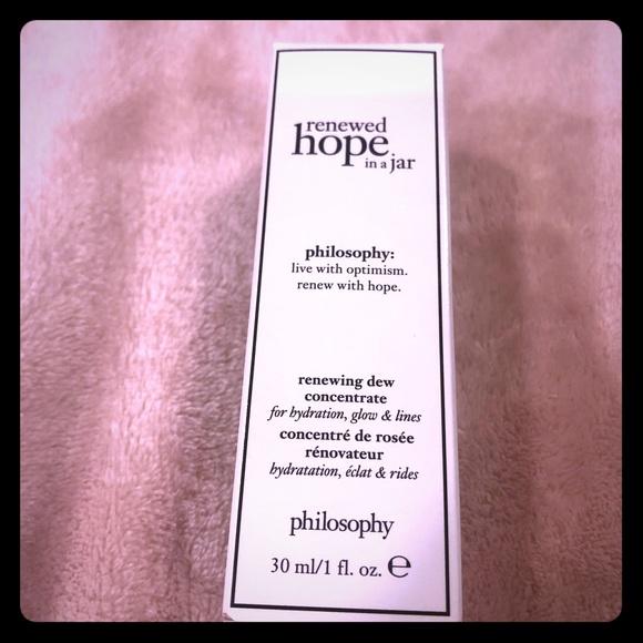 Philosophy Other - Philosophy Renewed Hope In A Jar